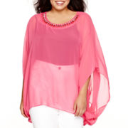 Bisou Bisou® Embellished Kaftan - Plus
