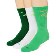 Nike® 3-pk. Dri-FIT® Fly Crew Socks