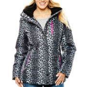ZeroXposur® Print Ski Jacket with Headband