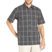 Van Heusen® Short-Sleeve Pucker Woven Shirt