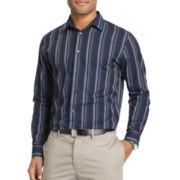 Van Heusen® Night Stripes Long-Sleeve Woven Shirt