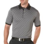 PGA TOUR® Jacquard Argyle Polo