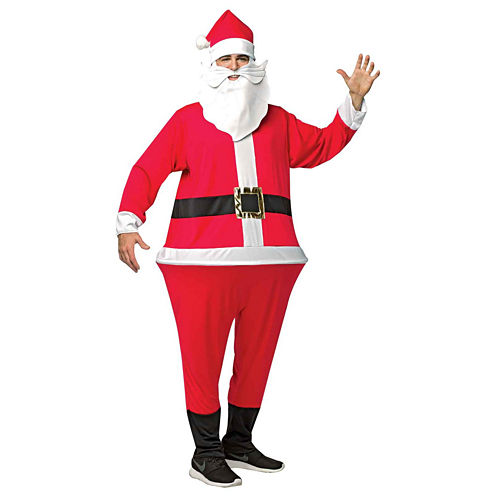 Santa Adult Hoopster Adult Costume