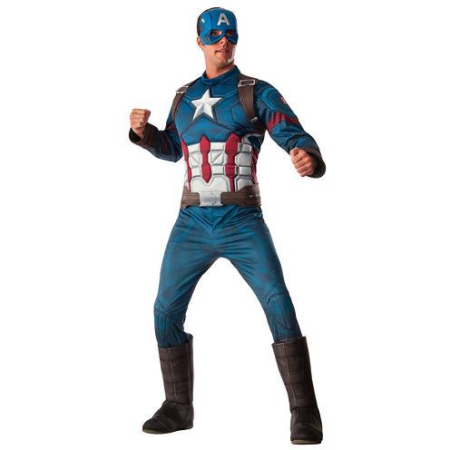Marvel's Captain America: Civil War Captain America Deluxe Muscle Chest Adult Costume