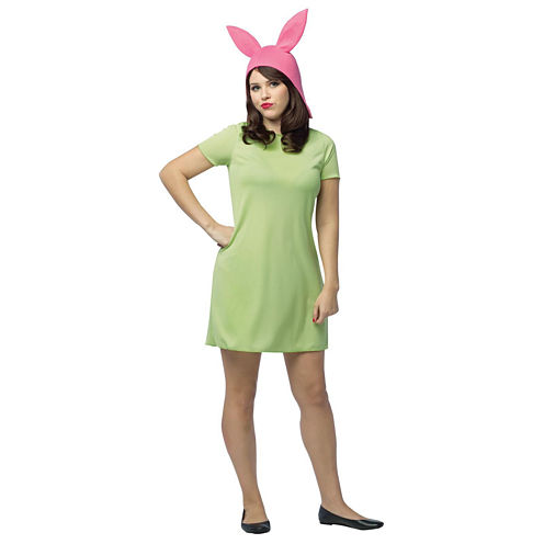 Bob's Burgers: Louise Adult Green Dress Costume
