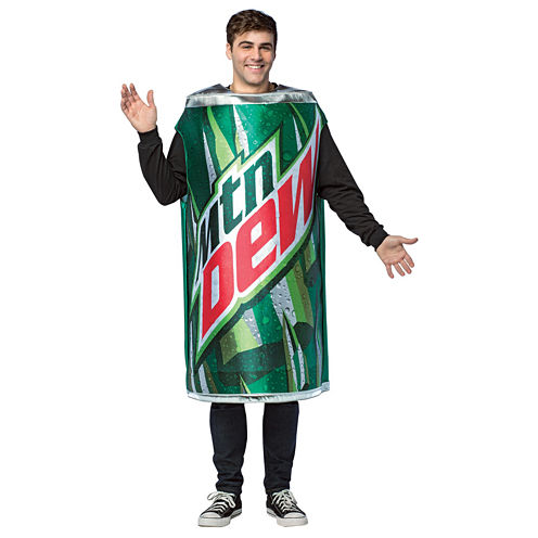 Mountain Dew Adult Can Tunic Adult Costume