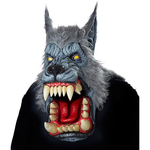 Lunar Psycho Wolf Big Mouth Mask