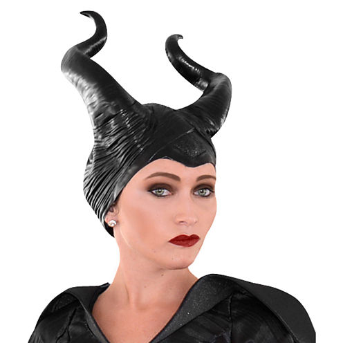 Disney Maleficent Vinyl Horns Headpiece Deluxe Adult