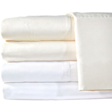 jcpenney.com | American Heritage 1200tc Set of 2 Egyptian Cotton Sateen Solid Pillowcases