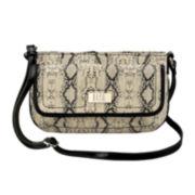 9 & Co.® True Colors Snake-Print Crossbody Bag