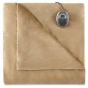Sunbeam® Royal Mink Heated Blanket