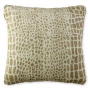 Journey Oversized Faux-Fur Decorative Pillow