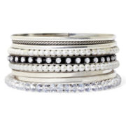 Mixit™ Mixed 9-pc. Bangle Bracelet Set