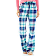 Liz Claiborne Flannel Sleep Pants - Petite