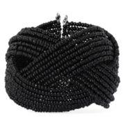 Mixit™ Black Seed Bead Cuff Bracelet