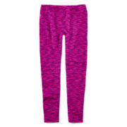 Capelli of New York Space-Dye Fleece-Lined Seamless Leggings - Girls 4-14