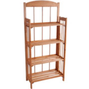 Lavish Home™ 4-Shelf Bookcase