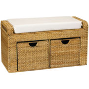 Household Essentials® Banana Leaf Storage Seat