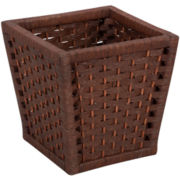 Household Essentials® Paper Rope Wastebasket