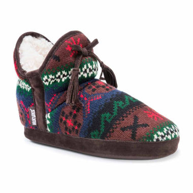 jcpenney.com | Muk Luks Knit Bootie Slippers