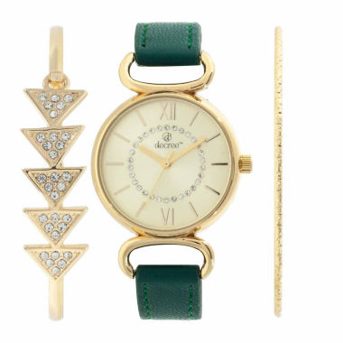 jcpenney.com | Decree Womens Gold Tone Watch Boxed Set-Dcr271ls