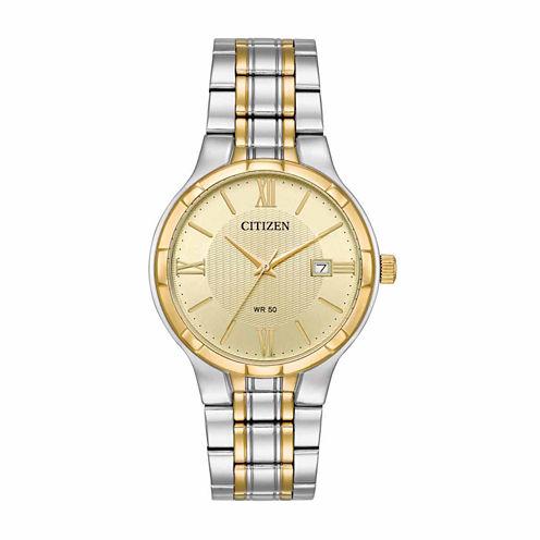Citizen Mens Two Tone Bracelet Watch-Bi5024-54p