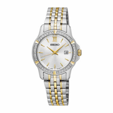 jcpenney.com | Seiko Womens Two Tone Bracelet Watch-Sur732