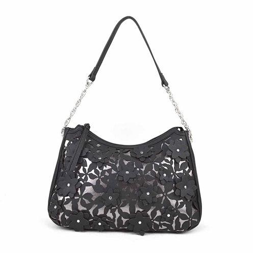 Liz Claiborne Diana Top Zip Shoulder Bag