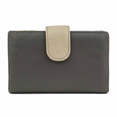 jcpenney.com | Mundi Rio Leather S&P Frame Indexer Wallet