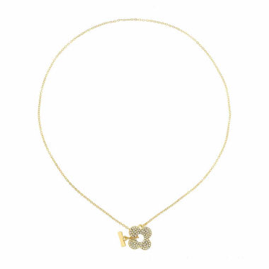 jcpenney.com | Liz Claiborne Clear And Goldtone Toggle Necklace