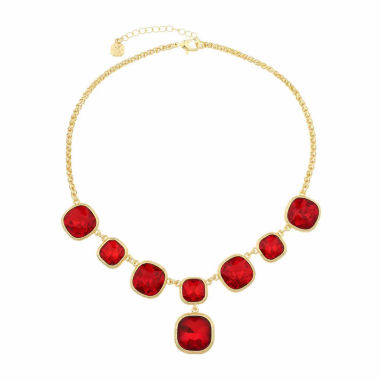 jcpenney.com | Monet Jewelry Womens Red Y Necklace
