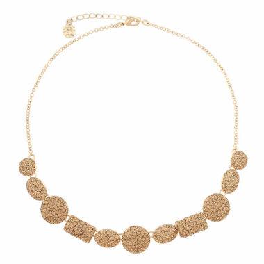 jcpenney.com | Monet Jewelry Womens Brown And Goldtone Collar Necklace