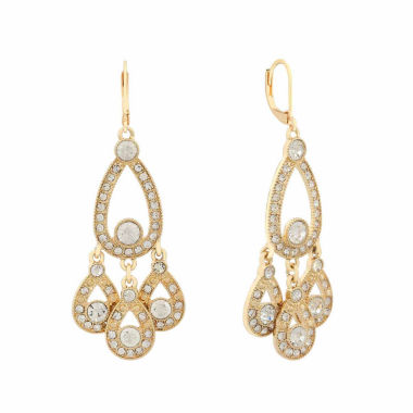 jcpenney.com | Monet Jewelry White Chandelier Earrings
