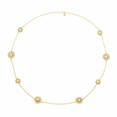 jcpenney.com | Monet Jewelry Womens Clear Strand Necklace