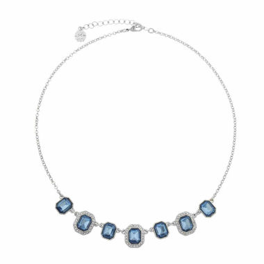 jcpenney.com | Monet Jewelry Womens Blue Collar Necklace
