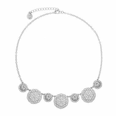 jcpenney.com | Liz Claiborne Womens Clear Collar Necklace