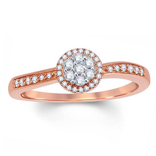 1/4 CT. T.W. Round White Diamond 10K Gold