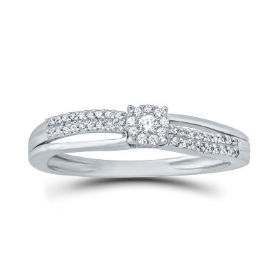 jcpenney.com | 1/7 CT. T.W. Round White Diamond 10K Gold