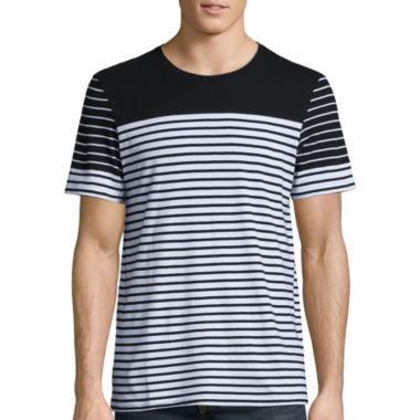 jcpenney.com | i jeans by Buffalo Short Sleeve Crew Neck T-Shirt