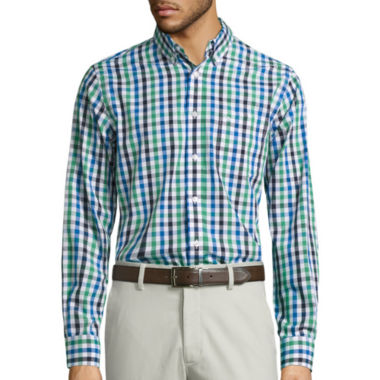 jcpenney.com | Dockers Plaid Button-Front Shirt
