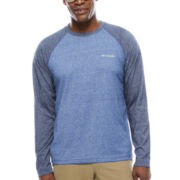 Columbia Long Sleeve Crew Neck T-Shirt