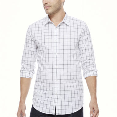 jcpenney.com | J.Ferrar Button-Front Shirt