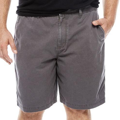 The Foundry Big & Tall Supply Co. Twill Chino Shorts