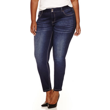jcpenney.com | Ariya Curvy Fit Jeggings-Juniors Plus