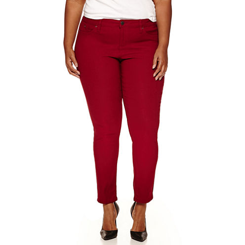 Ymi Skinny Fit Slim Pants-Juniors