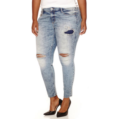 jcpenney.com | Arizona Skinny Jeans-Juniors Plus