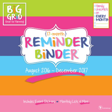 jcpenney.com | 2017 Reminder Binder 17 - Month Wall Calendar