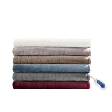 jcpenney.com | Beautyrest Oversized Plush Heated Throw