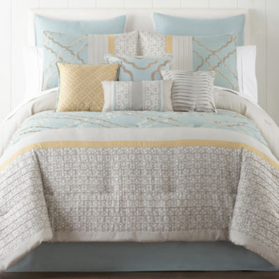 Home Expressions Gretchen 10 Pc Comforter Set Jcpenney