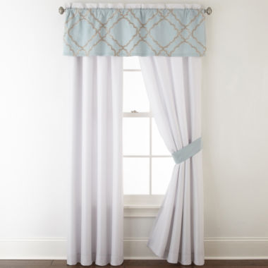 jcpenney.com | Home Expressions Gretchen 2-pack Curtain Panels
